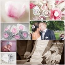 mariage rose gris blanc bijoux accessoires mariee cereza mademoiselle