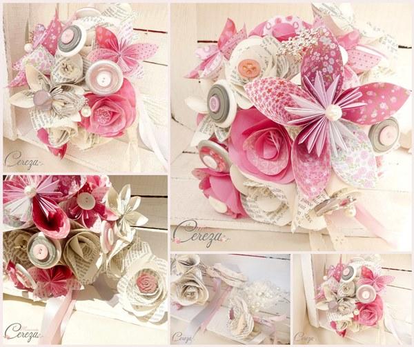 mariages sur-mesure bouquet mariee atypique personnalise cereza mademoiselle