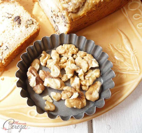 recette végétarienne pour brunch mariage cake salé olives chevre noix