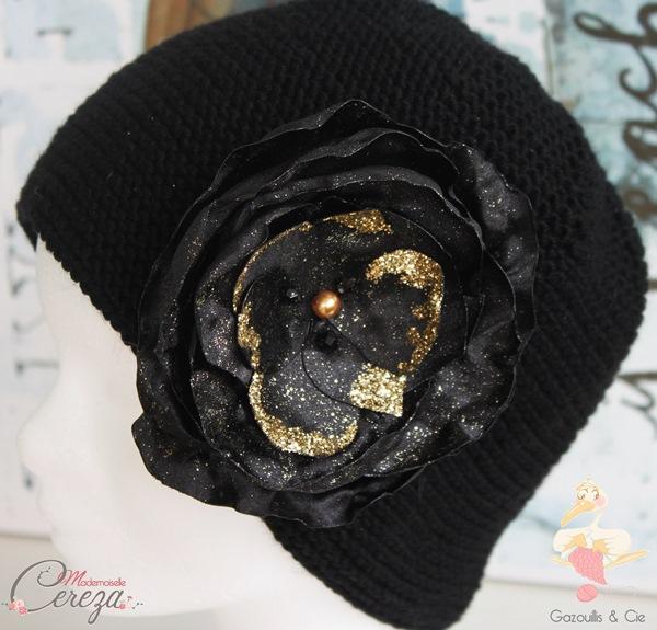 accessoires-hiver-2016-rose-bonbon-noir-dore-bonnet-fleur-mademoiselle-cereza-gazouillis-et-cie-3-600