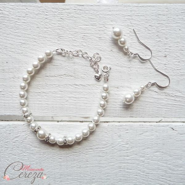 bijoux mariage chic perle strass cristal mademoiselle cereza