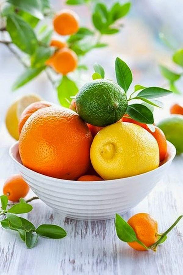 choisir son centre de table mariage coloré fruits agrumes diy