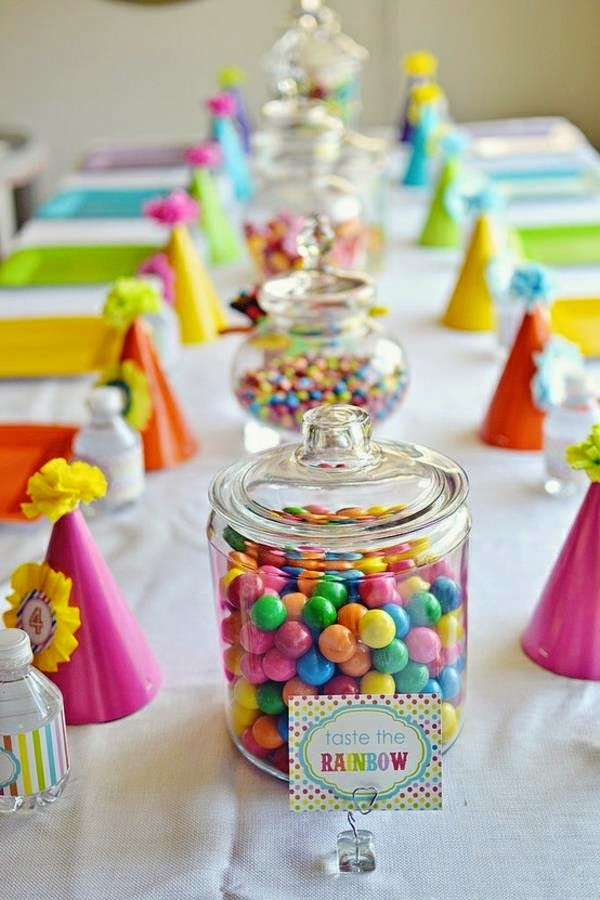 choisir son centre de table mariage theme gourmandise bonbons