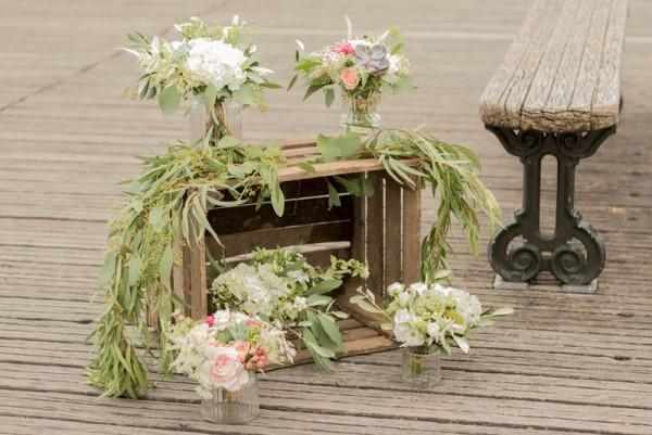 mariage bohème chic à Paris décoration florale détail