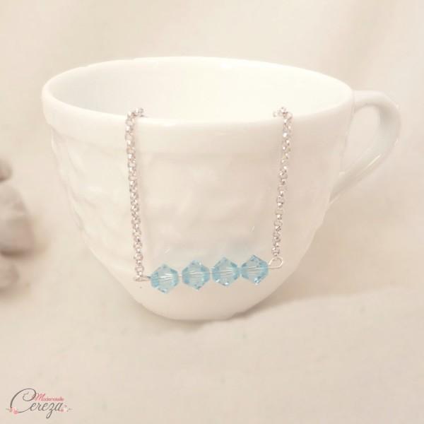 bijou mariage bleu quelque chose de bleu bracelet mariee