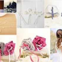 fleurs colorées et bijoux mariage