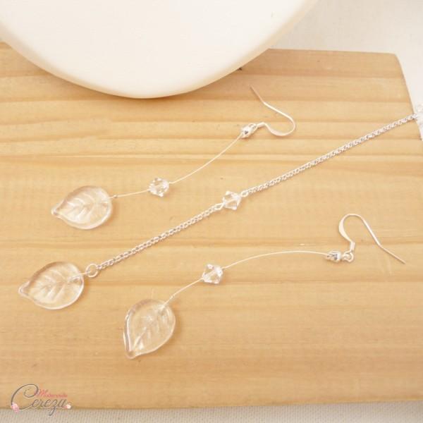 bijoux mariage cristal simple nature