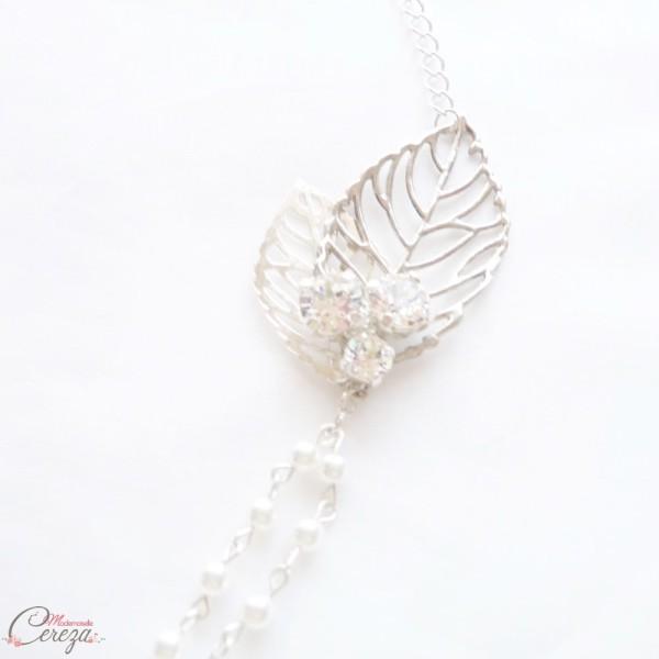 headband bijou de coiffure mariage bohème chic Gipsy Mademoiselle Cereza perles cristaux Swarovski