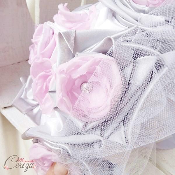 bouquet de mariee artificiel a garder pastel sur-mesure mademoiselle cereza
