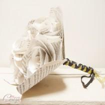 bouquet de mariage Twilight blanc doré noir