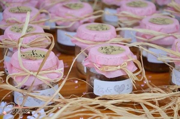 idée cadeau invité mariage home made kit chocolat chaud