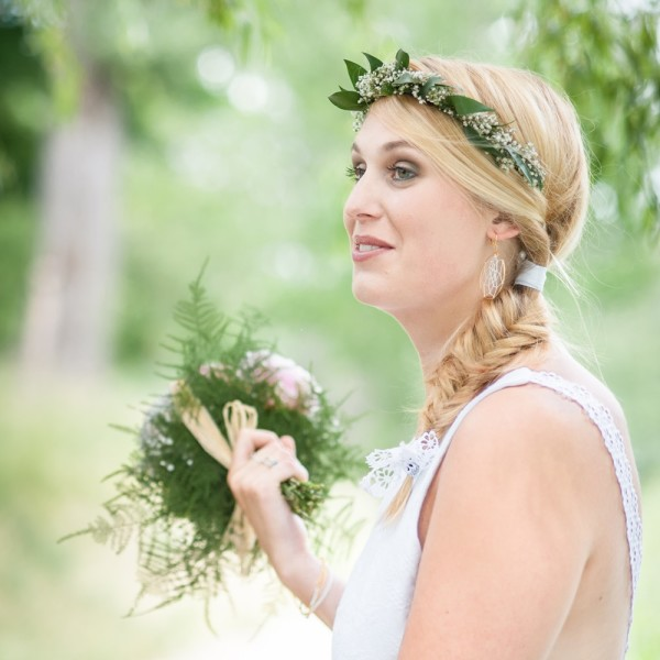 idée bijoux mariage originaux simples et jolis Mademoiselle Cereza photo Eric Cunha