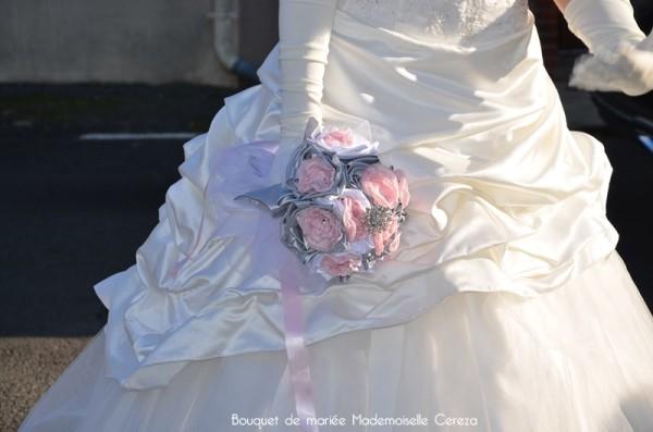 fleuriste mariage original chic bouquet retro vintage Melle Cereza deco