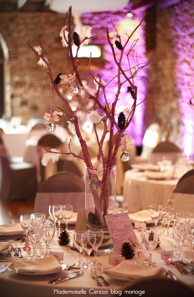 mariage vintage chic romantique idée déco table