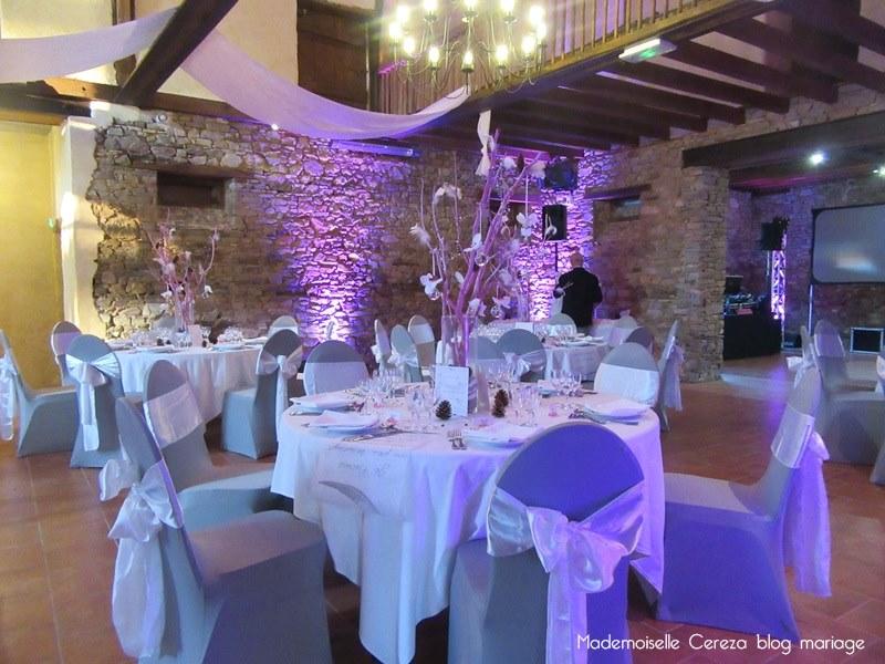 idee deco table salle mariage retro vintage chic Melle Cereza blog mariage
