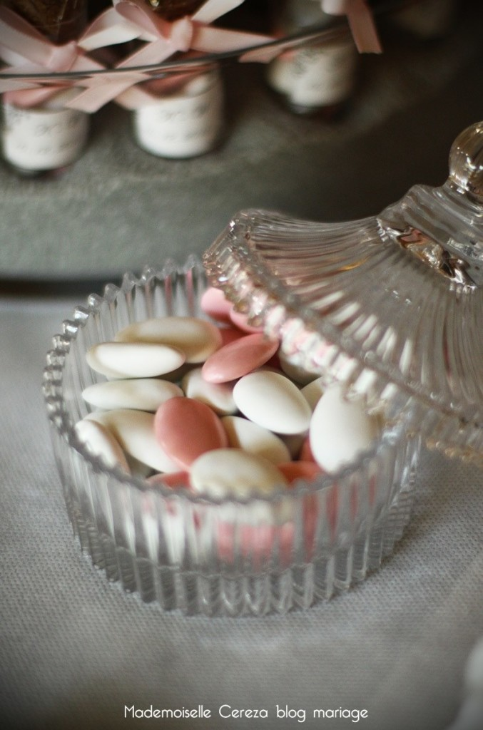 idee mariage vintage chic candy bar dragees Melle Cereza blog mariage