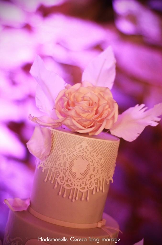 idee wedding cake mariage vintage chic Melle Cereza blog mariage