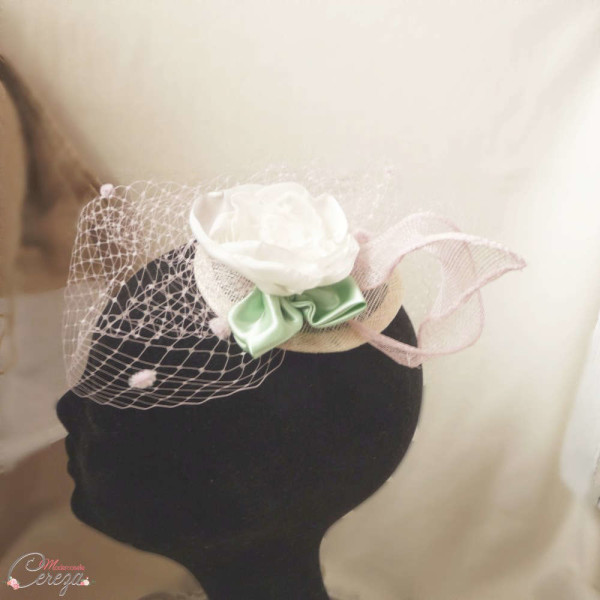 bibi de cérémonie tons pastels personnalisable Melle Cereza modèle Garden Party