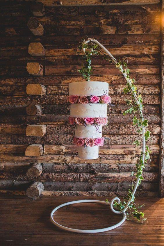 wedding cake tres original renverse Mademoiselle Cereza blog mariage