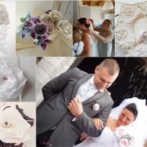 accessoires mariage chic Saint Etienne Le Puy Mademoiselle Cereza Deco