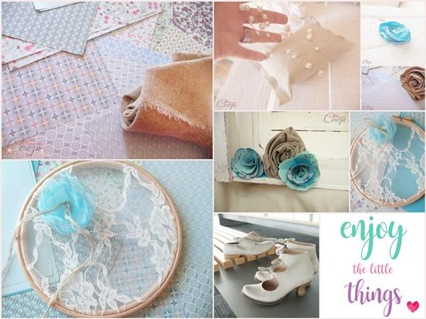 mariage bleu turquoise lin jute accessoires fleuris Mademoiselle Cereza blog mariage original