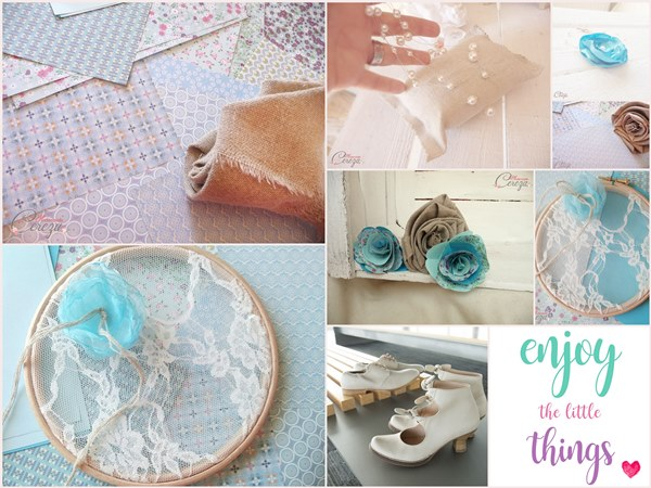 5 mariage bleu turquoise lin jute champetre chic melle cereza blog mariage