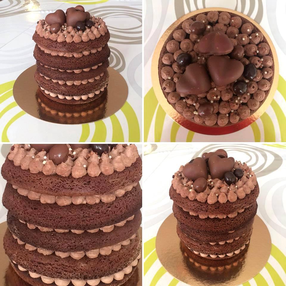 Gâteau de mariage tout chocolat Orléans Les Gâteaux de Laure Mademoiselle Cereza blog mariage original
